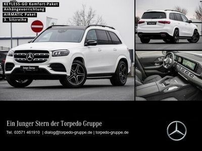 gebraucht Mercedes GLS400 d 4M AMG Line AHK+360°Kamera+Burmester®