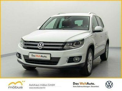 gebraucht VW Tiguan Sport & Style 2.0 TDI DSG+SPORT&STYLE+NAVI+STANDHZ.+PDC