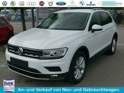 gebraucht VW Tiguan 2.0 TDI DPF DSG 4M HIGHLINE * AHK BUSINESS-PREMIUM-PAKET LED NAVI PARK ASSIST