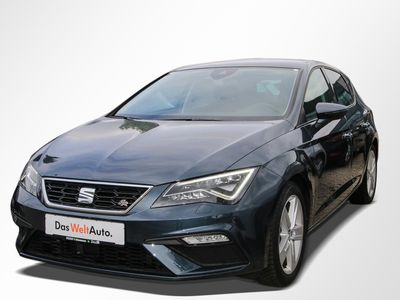 gebraucht Seat Leon 2.0 TSI DSG FR Navi ACC Beats 5JGa LED WLTP