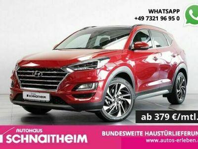 gebraucht Hyundai Tucson Premium 1.6 T-GDi 7-Gang DCT 4WD   Pano   als SUV/Geländewagen/Pickup in Heidenheim