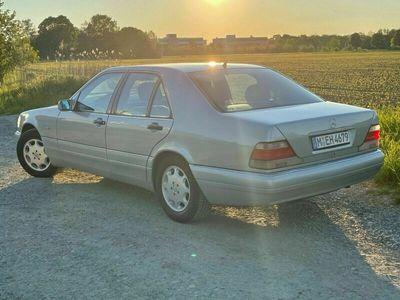 gebraucht Mercedes S420 123 Tkm HU03.23 Standheizung