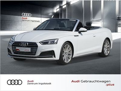 gebraucht Audi A5 Cabriolet 2.0 TFSI S line 19 NAVI+ LED Sport