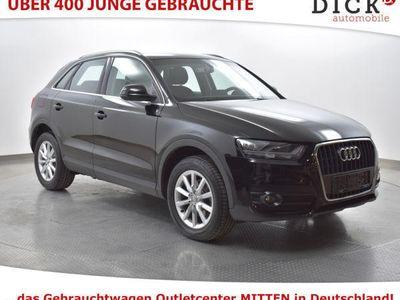 gebraucht Audi Q3 2.0TDI NAVI+SHZ.+APS+MFL+AHK+TEMP+KOMFORTSCH.