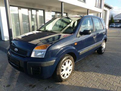gebraucht Ford Fusion Style 1,25 Klima AHK Blau