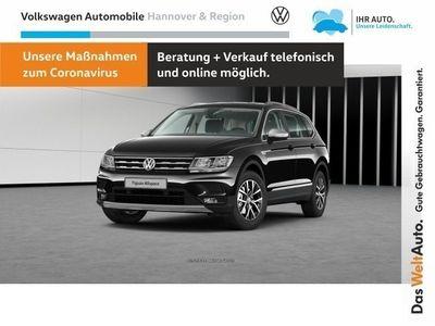 gebraucht VW Tiguan Allspace Comfortline 4MOTION 2,0 l TDI SCR 140 kW (190 PS) 7-Gang- DSG