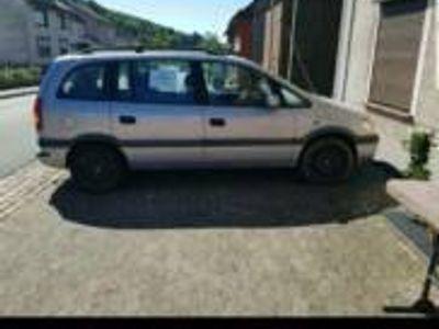 second-hand Opel Zafira