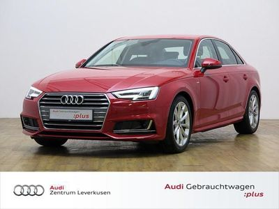 gebraucht Audi A4 2.0 TDI S line S TRONIC NAVI LEDER LED AHK