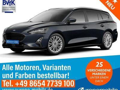 gebraucht Ford Focus Turnier TITANIUM (D6) 1.5 EcoBlue 120 A8