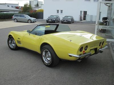 verkauft corvette c3 cabrio schalter gebraucht 1968 km in trossingen. Black Bedroom Furniture Sets. Home Design Ideas