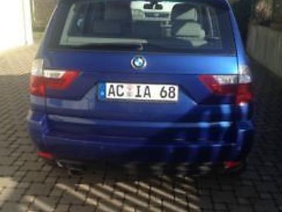 gebraucht BMW X3 2.0d Allrad