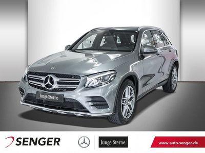 gebraucht Mercedes GLC220 d 4M AMG-LINE+PANO+LED+NAVI+TEMP+9G TRON Fahrzeuge kaufen und verkaufen