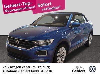 gebraucht VW T-Roc Cabriolet R-Line 1.5 TSI DSG LED Keyless Kurvenlicht ACC Parklenkass. Rückfahrkam.