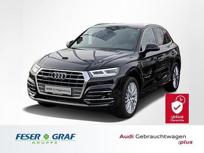 gebraucht Audi Q5 40TDI S tronic 3x S line/LED/20/ACC/Navi+