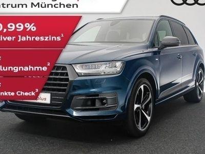 gebraucht Audi Q7 50 TDI qu. tiptr. S line Luftfed/StdHzg/AHK/Allradlenkung