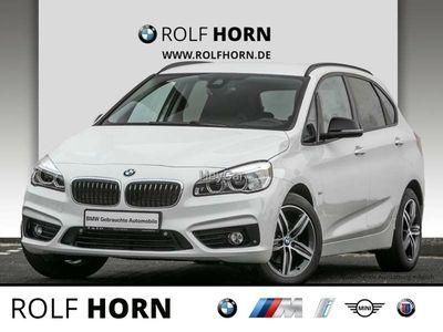 gebraucht BMW 216 Active Tourer Sport Line Aut. Klima PDC LED