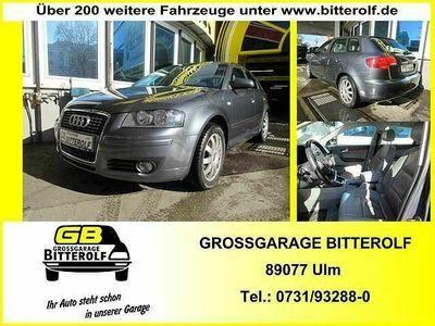 gebraucht Audi A3 Sportback Neu 16 FSI Leder/SHZ/Temp/PDC