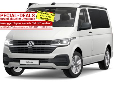 gebraucht VW California T6TDI 150 DSG Beach LED in Kehl