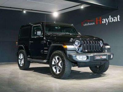 gebraucht Jeep Wrangler Unlimited Sahara Navi-LED-Diff.Sperre