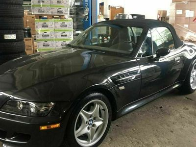 gebraucht BMW Z3 M Roadster original, schwarz/schwarz