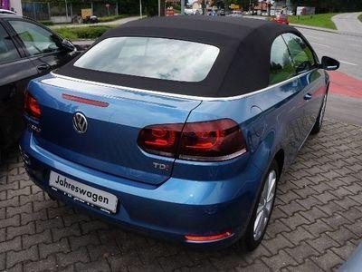 gebraucht VW Golf Cabriolet 1,6 TDI Lounge KLIMA XENON NAVI ALU