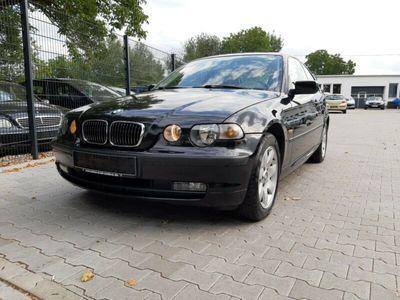 gebraucht BMW 316 I COUPE/COMPAKT KLIMA GSD SHZ TÜV 10/2020