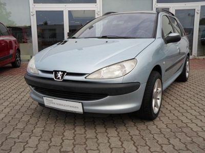 gebraucht Peugeot 206 1.4 Kombi Filou 75