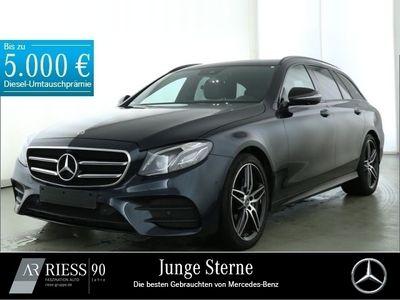 gebraucht Mercedes E220 T-Modell AMG+360°+Night+LED+Widescreen