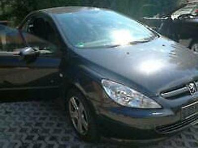 gebraucht Peugeot 307 CC schwarz