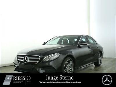 gebraucht Mercedes E220 AMG Sport Navi LED Kamera AHK Umweltbonu