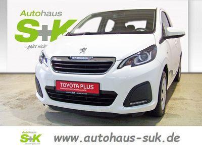 gebraucht Peugeot 108 ACTIVE 5-TüRIG 1,0 E-VTI Klimaanlage