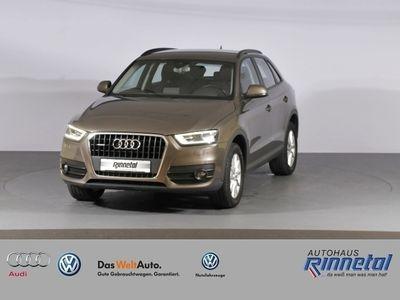 gebraucht Audi Q3 2.0 TFSI quattro Autom. BOSE,AHZV,Xenon plus,PDC,Tel.-Vorb.,GRA,MAL,adapti KLIMA ALU