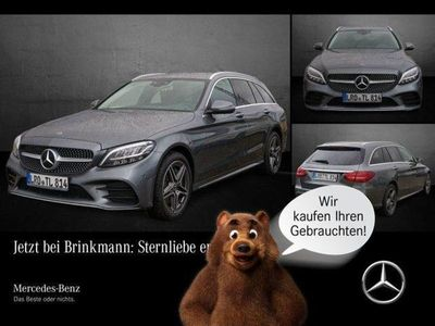 gebraucht Mercedes C300 de T-Modell AMG LINE/COMAND/LED/360° HiFi