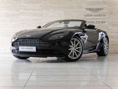 gebraucht Aston Martin DB11 V8 Volante, Ultramarine Black Obsidian Black Leder