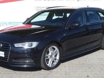 "gebraucht Audi A6 Avant S line 3.0 TDI quattro AHK Head up 19"" Navi Stoff/Leder"