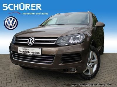 gebraucht VW Touareg 4.2 V8 TDI ACC*Leder*Luft*DAB*Key wieneu