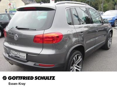 gebraucht VW Tiguan 2.0 TDI DSG 4M Sport & Style - Leder,Klima,Schiebedach,Xenon,Sitzheizung,Alu,Servo,