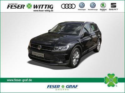 gebraucht VW Tiguan 2.0 TDI Highline AZV/NAVI/Tel./ACC/LED/el