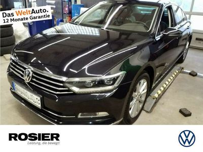 gebraucht VW Passat Highline 2.0 TDI DSG Abstandstemp. LED Pa