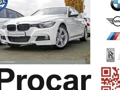 gebraucht BMW 318 d M Sport Navi Klimaaut. Sports. Durchlades.