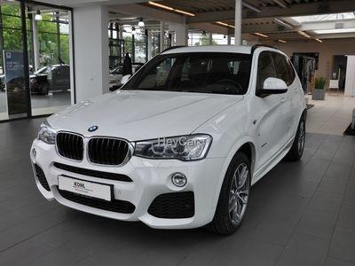 gebraucht BMW X3 xDrive20d M Sportpaket Navi Business Head-Up