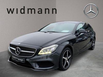 gebraucht Mercedes CLS350 Shooting Brake d AMG*Burmester*Comand*