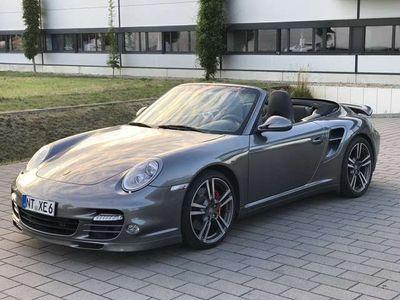 gebraucht Porsche 911 Turbo Cabriolet PDK,2.Hand,Chrono,Sitzhzg,Orig. Zust.
