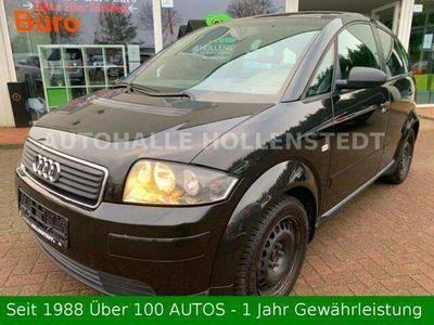 gebraucht Audi A2 1,4 PANORAMADACH~Benzin~KLIMA~SERVO~5 gang~ 1