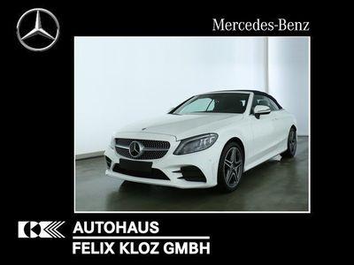 gebraucht Mercedes C180 Cab AMG 9G MULTIBEAM COMAND Burmester AHK