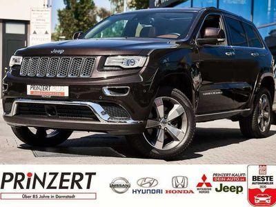 gebraucht Jeep Grand Cherokee 3.0 CRD 'Summit' Leder braun Euro6, Gebrauchtwagen, bei Autohaus am Prinzert GmbH