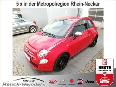 gebraucht Fiat 500 Pop Star 1.2 8V NR Knieairbag RDC Klima CD USB MP3