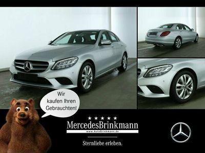 gebraucht Mercedes C180 AVANTGARDE/LED/SCHIEBEDACH/NAVI/KAMERA SHD/SHZ