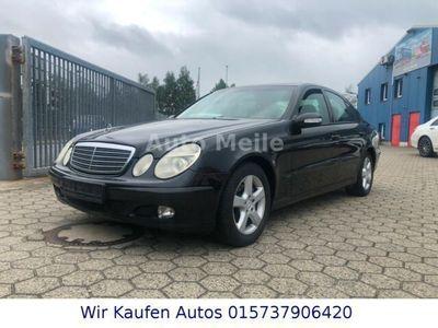 gebraucht Mercedes E220 CDI Mit Euro 4 Klimaanlage Alufelgen