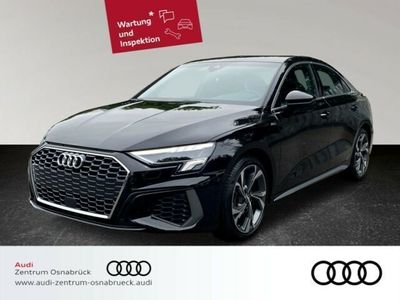 gebraucht Audi A3 Limousine 35 TFSI S tronic neues Modell S line ACC LED Navi SHZ VirtualCP Infotainment-Paket